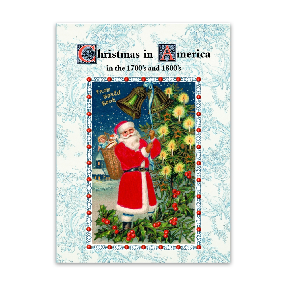 christmas in america in the 1700 u0027s and 1800 u0027s book 20196 world