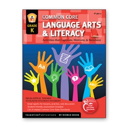 Common Core Language Arts and Literacy Kindergarten common core, english, language arts. literacy, reading, kindergarten