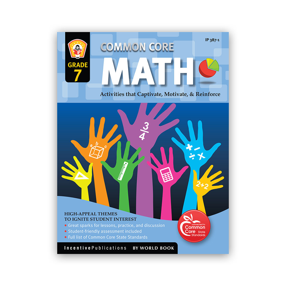 Common Core Math Workbook for Grade 7 | World Book