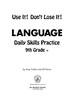 Daily Language Practice 9th Grade +: Use It! Don't Lose It! - IP6124