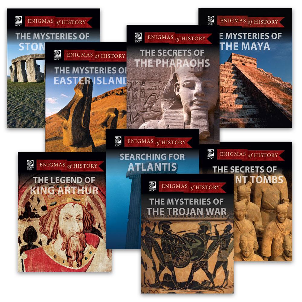 enigmas of history mysteries and secrets of history world book