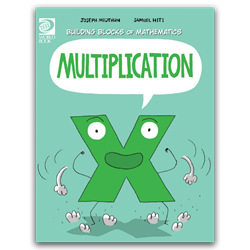 Multiplication mathematics, graphic novel, educational comics