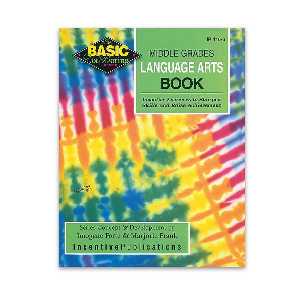 middle grades language arts book basic not boring ip4166 world