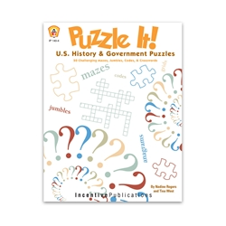 Puzzle it U.S. History and Government cover