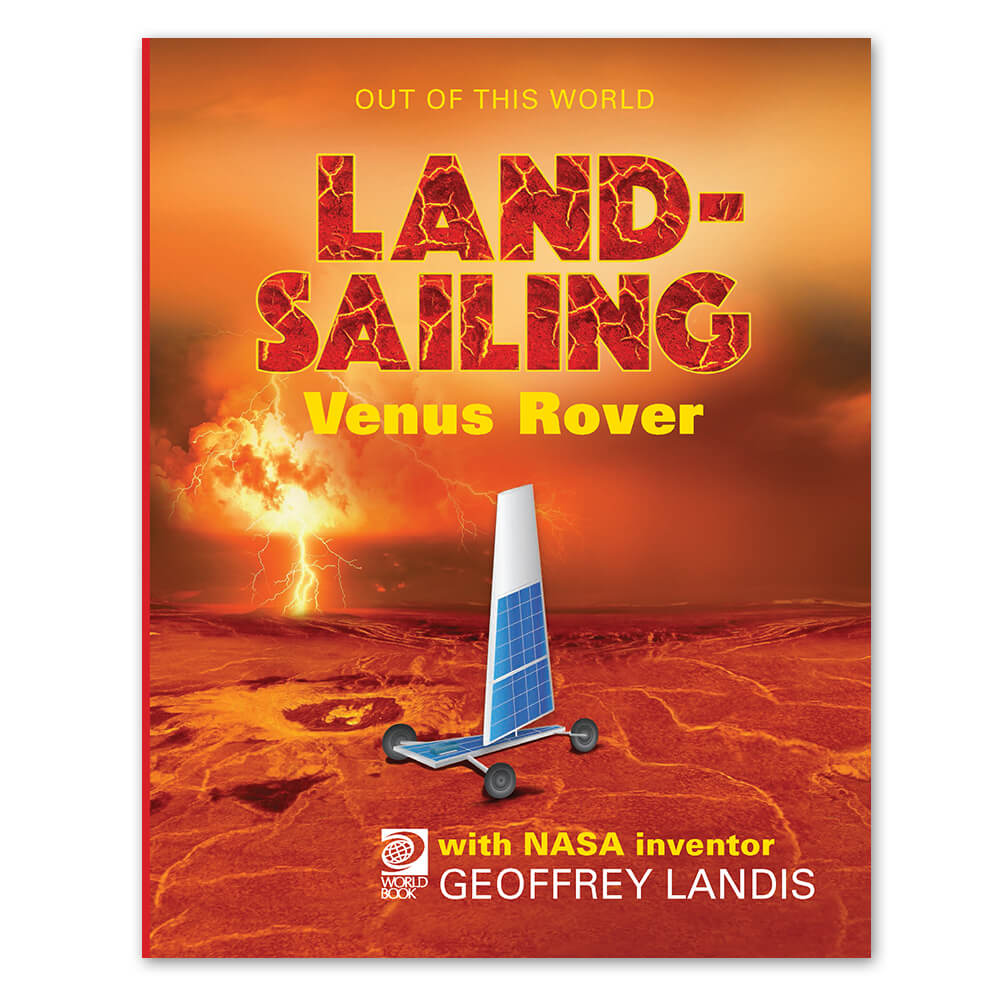 Land-Sailing Venus Rover cover