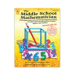 The Middle School Mathematician, Revised with CD